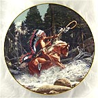 The Challenge Collector Plate by Frank McCarthy