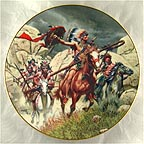 War Party Collector Plate by Frank McCarthy MAIN