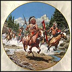 Warriors of Savage Splendor Collector Plate by Frank McCarthy