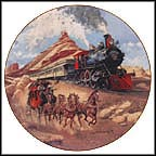 The Race Is On Collector Plate by Jim Deneen