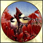Autumn's Elegance Collector Plate by Marc R. Hanson
