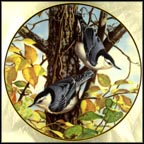 Fall's Serenade Collector Plate by Marc R. Hanson