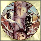 Sounds Of Winter Collector Plate by Marc R. Hanson
