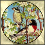 Springtime Haven Collector Plate by Marc R. Hanson MAIN