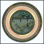The Archery Meet Collector Plate by Shigekasu Hotta