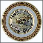 Dragon And Phoenix Boats Collector Plate by Shigekasu Hotta