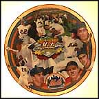 1969 Miracle Mets Collector Plate by Terrence Fogarty