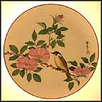 The Flowering Of Spring Collector Plate by Shunsuke Suetomi