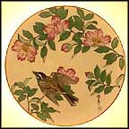 The Garden Sanctuary Collector Plate by Shunsuke Suetomi