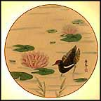 The Tranquil Pond Collector Plate by Shunsuke Suetomi MAIN