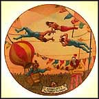 Aerialists Collector Plate by Franklin Moody