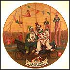 Clowns Collector Plate by Franklin Moody
