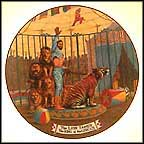 The Lion Tamer Collector Plate by Franklin Moody