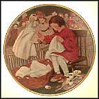 The Little Busy Bee Collector Plate by Jessie Willcox Smith