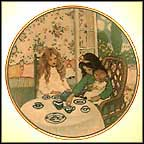 The Tea Party Collector Plate by Jessie Willcox Smith