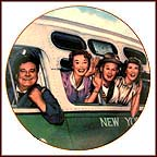 The Honeymoon Express Collector Plate by D. Kilmer MAIN