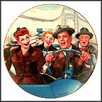California, Here We Come Collector Plate by Jim Kritz