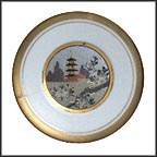 Spring - Cherry Blossoms Collector Plate by Shuho And Senkin Kage