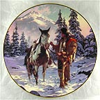 Morning of Reckoning Collector Plate by Chuck Ren