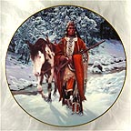 Winter of '41 Collector Plate by Chuck Ren