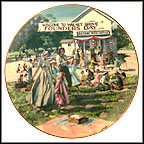 Founder's Day Picnic Collector Plate by Eugene Cristopherson