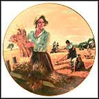 The Women's Harvest Collector Plate by Eugene Cristopherson