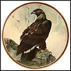 Golden Eagle Collector Plate by C. Ford Riley