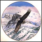The Eagle Soars Collector Plate by Thomas Hirata
