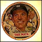 The Mick Collector Plate by Robert Tanenbaum