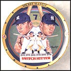 Switch Hitter Collector Plate by Robert Tanenbaum
