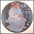 Mother's Helping Hand Collector Plate by Thornton Utz