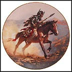 Spirit Of The Plains Collector Plate by Chuck Ren