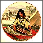 Sacajawea Collector Plate by David Wright