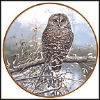 Autumn Mist Collector Plate by John Seerey-Lester