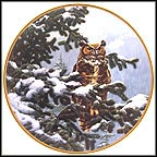 Winter Vigil Collector Plate by John Seerey-Lester