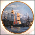 Romance Of The Seas Collector Plate by Raymond Massey