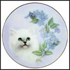 Forget-Me-Not Collector Plate by Bob Harrison