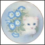 Morning Glories Collector Plate by Bob Harrison