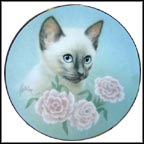 Siamese Summer Collector Plate by Bob Harrison