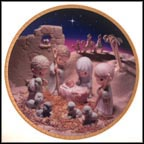 Unto Us A Child Is Born Collector Plate by Sam Butcher
