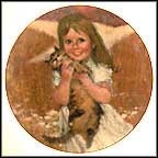 My Kitty Collector Plate by Thornton Utz