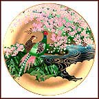Golden Tranquility Collector Plate by Eiko Horikawa