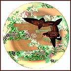 Gracful Flight Collector Plate by Eiko Horikawa