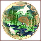 Natural Serenity Collector Plate by Eiko Horikawa
