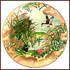 Peaceful Shore Collector Plate by Eiko Horikawa
