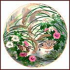 Quiet Enchantment Collector Plate by Eiko Horikawa