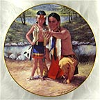 Sounds of the Forest Collector Plate by Kenneth Freeman