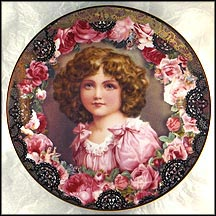 As Fair As A Rose Collector Plate by John Grossman