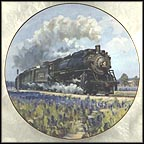 Blue Bonnet Collector Plate by David Tutwiler