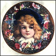 Bonnie Blue Eyes Collector Plate by John Grossman